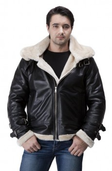 fashionable shearling jackets for men 2015-2016