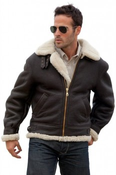 mens shearling jacket 2015-2016