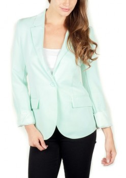 womens casual boyfriend blazer