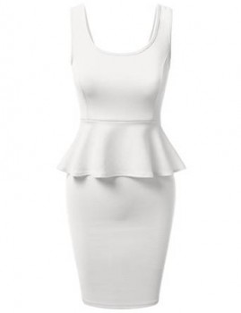 women peplum dress