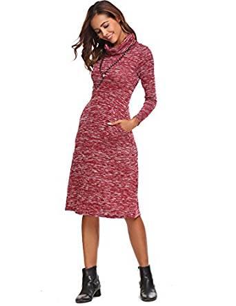 hot long sweater dress 2019