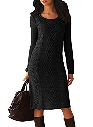 long best sweater dress 2019