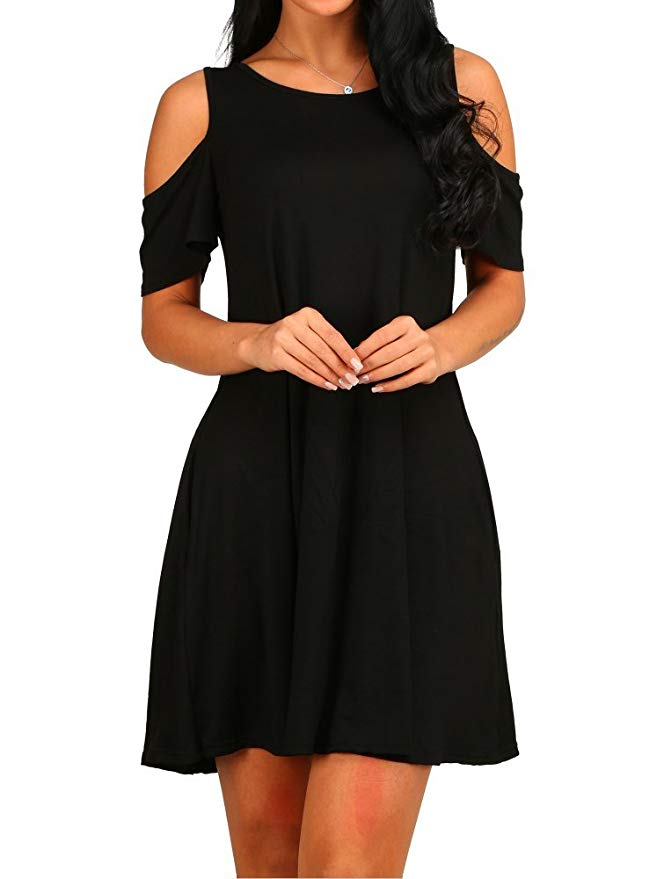 best fashionable little black dress 2019