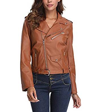 ladies leather jackets 2019